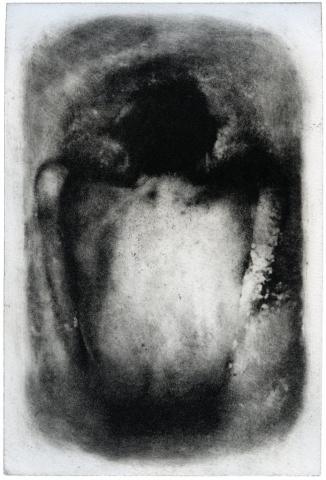 Kohtu (2018), fotopolymeeri, 30 x 20 cm